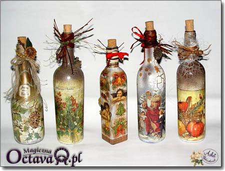 """Декупаж бутылки  """"Солнце """".  Этот мастер-класс я нашла на сайте очень опытного польского мастера, точнее мастерицы..."""