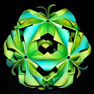 b Кусудама /b- волшебный шар из бумаги.
