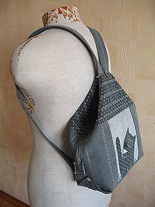 ebad560b9a68 рюкзак из старых джинсов - Самое интересное в блогах