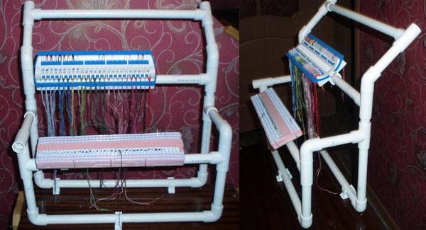 Из чего сделать станок для вышивания своими руками
