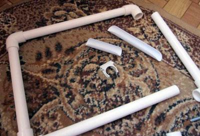 Пяльцы для вышивания своими руками из пластиковых труб 57