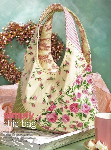...сумка. выкройка сумки.  0. LoZa.  Такую сумку можно сшить из лубой...